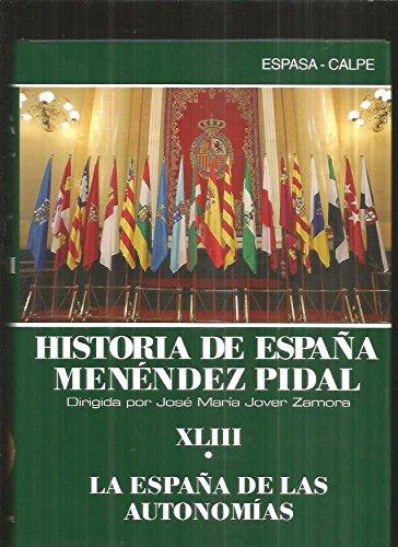 Historia de España t. 43-1españa de las autonomias io.c. 2910012655038: Amazon.es: Mendez Pidal: Libros