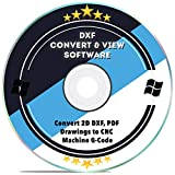 DXF Software dxf2gcode CAD Viewer Converter 2D DXF, PDF Drawings to CNC Machine G-Code for Windows 10 8 7