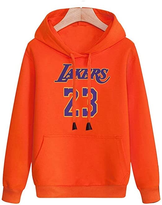 Fan-Moda Baloncesto Masculino con Capucha NBA Lakers Lebron James ...