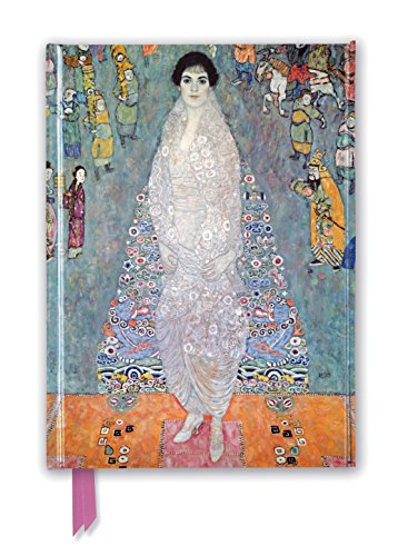 Gustav Klimt: Portrait of Baroness Elisabeth Bachofen-Echt (Foiled Journal) (Flame Tree Notebooks)