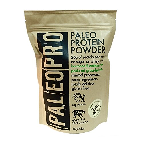 UPC 713757914710, PaleoPro - Paleo Protein Powder - 1lb/454g - Aztec Vanilla