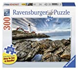 Ravensburger Lighthouse Rocks-Large Format Jigsaw Puzzle (300-Piece)