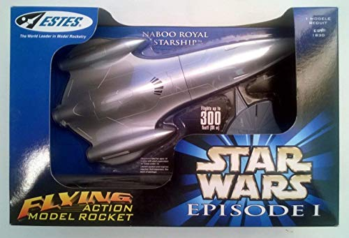 Estes Naboo Royal Starship Star Wars Episode I Flying for sale  Delivered anywhere in USA