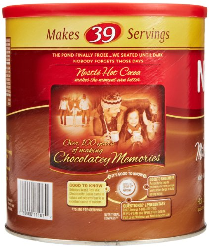 Review Nestle Rich Chocolate Hot