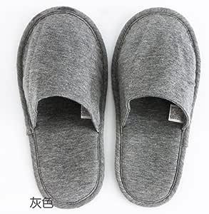 CWJDTXD Zapatillas de verano Pantuflas portátiles de viaje delgadas inferiores deslizadores de viaje hotel luz plegable zapatillas de algodón mudo, (one size36-42), gris sólido: Amazon.es: Hogar