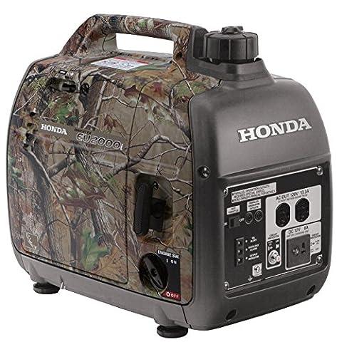Honda 659840 EU2000i Camo 2,000 Watt Portable Generator (Portable 2000w Generator)