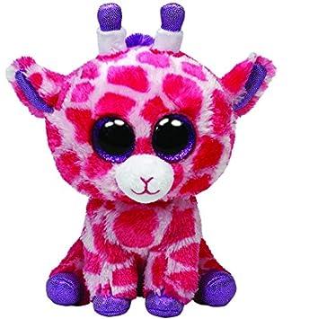 Beanie Boos - Peluche 23 cm - Jirafa Rosa - Peluche Beanie Boos Jirafa twigs Pink