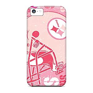 Best Hard Cell-phone Cases For Iphone 5c With Unique Design Vivid Pittsburgh Steelers Series AaronBlanchette