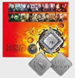 Game Of Thrones - Fire And Blood - Great Britain Royal Mail Collector's 2018 Stamps Medal Cover
