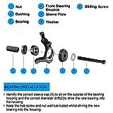 8MILELAKE 23pcs FWD Front Wheel Drive Bearing