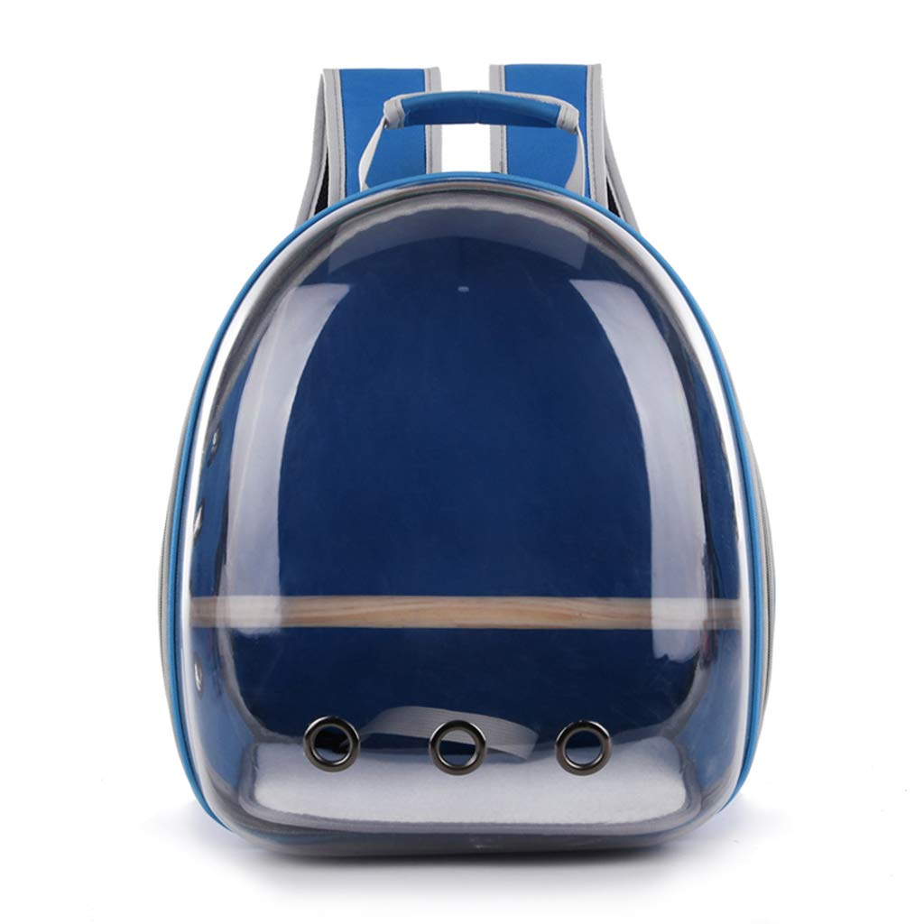 Hardli Pet Parrot Carrier, Bird Travel Bag,Space Capsule Transparent Backpack, Breathable 360° Sightseeing,Portable by Hardli