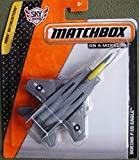 MATCHBOX SKYBUSTERS GRAY BOEING F-15 EAGLE AIRPLANE