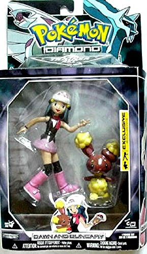 - Jakks Pacific Pokemon Diamond & Pearl Trainer Sets Dawn & Buneary Exclusive Action Figure Set