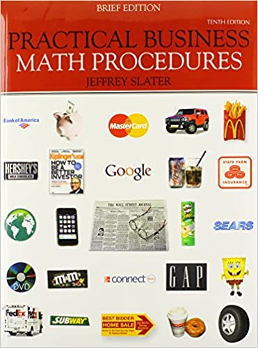 Practical business math procedures brief edition with business practical business math procedures brief edition with business math handbook student dvd wsj insert connect access card 10th edition fandeluxe Images