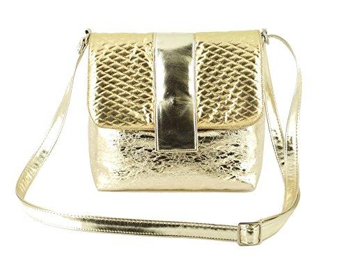 Gold Cross Shoulder Body LONI Bag Desire 5ZwvtqX