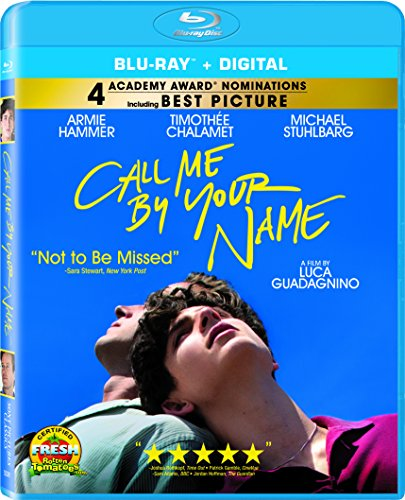 Blu-ray : Call Me By Your Name (Widescreen, Dolby, AC-3)
