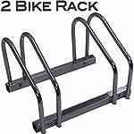 EasyGoProdpants EGP-BIK-002-1 EasyGo - Estante de Doble Rueda para Piso de Interior - Soporte para Bicicleta para...