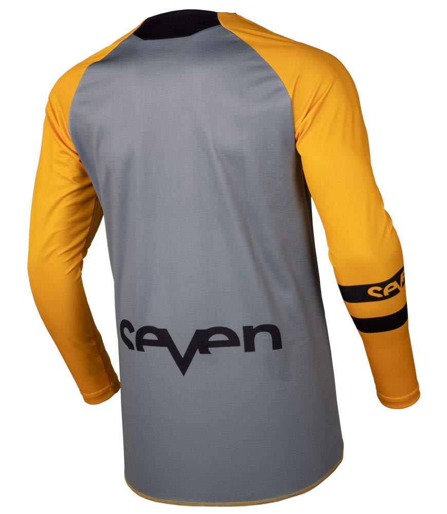 Orange//Medium Seven Annex Force Off-Road Motorcycle Jersey