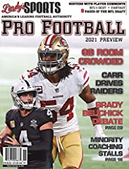 Lindy's Sports 2021 PRO Football Preview (Covers V