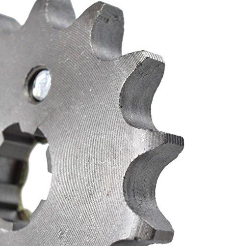 Velocity 420 14T 17mm Front Chain Sprocket 50cc 70cc 90cc 110cc 125cc Pit Dirt Bike ATV