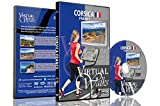 Virtual Walks - Corsica, France for Indoor Walking, Treadmill and Cycling Workouts