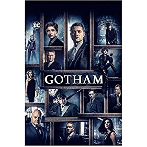 Gotham (TV Series 2014 - ) (8 inch by 10 inch) PHOTOGRAPH Collage of Characters Title Poster kn