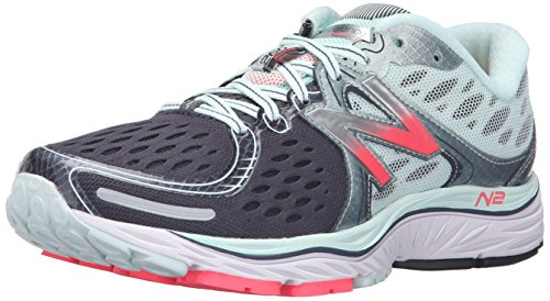 New Balance Women's W1260v6 Running Shoe, Pink/White, 9.5 B...