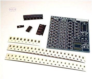 Soldadura P genérica práctica de Soldadura T SMT SMD componente Elding Pra Junta Soldador Ctice Bo DIY Kit SMT práctica: Amazon.es: Electrónica
