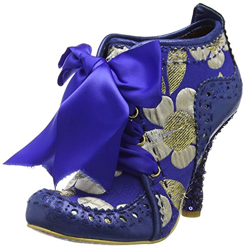 Blue Third Mujer Azul Tacones Choice Gold Irregular Party Abigail's PfUU07