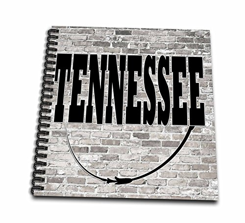 Tennessee Album - 3dRose RinaPiro - US States - Tennessee. State Capital is Nashville. - Memory Book 12 x 12 inch (db_268721_2)