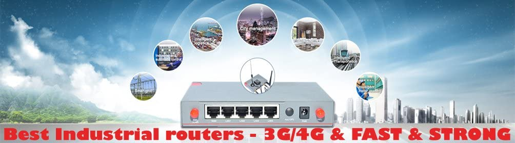 Cellular Industrial Router H20IL WCDMA