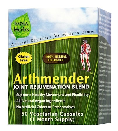 Supreme Joint and Bone Program for Inflammation, Discomfort, and Pain Relief, 180 Capsules by India Herbs (Image #1)