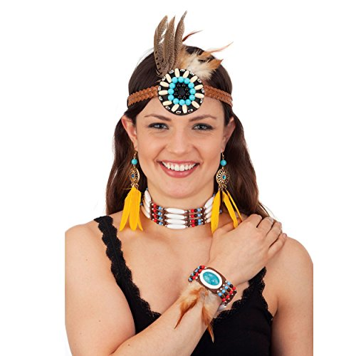 Native American Costume Jewelry Set - Costumes Indian Jewelry