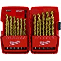 Milwaukee 29-Piece Titanium Drill Bit Set