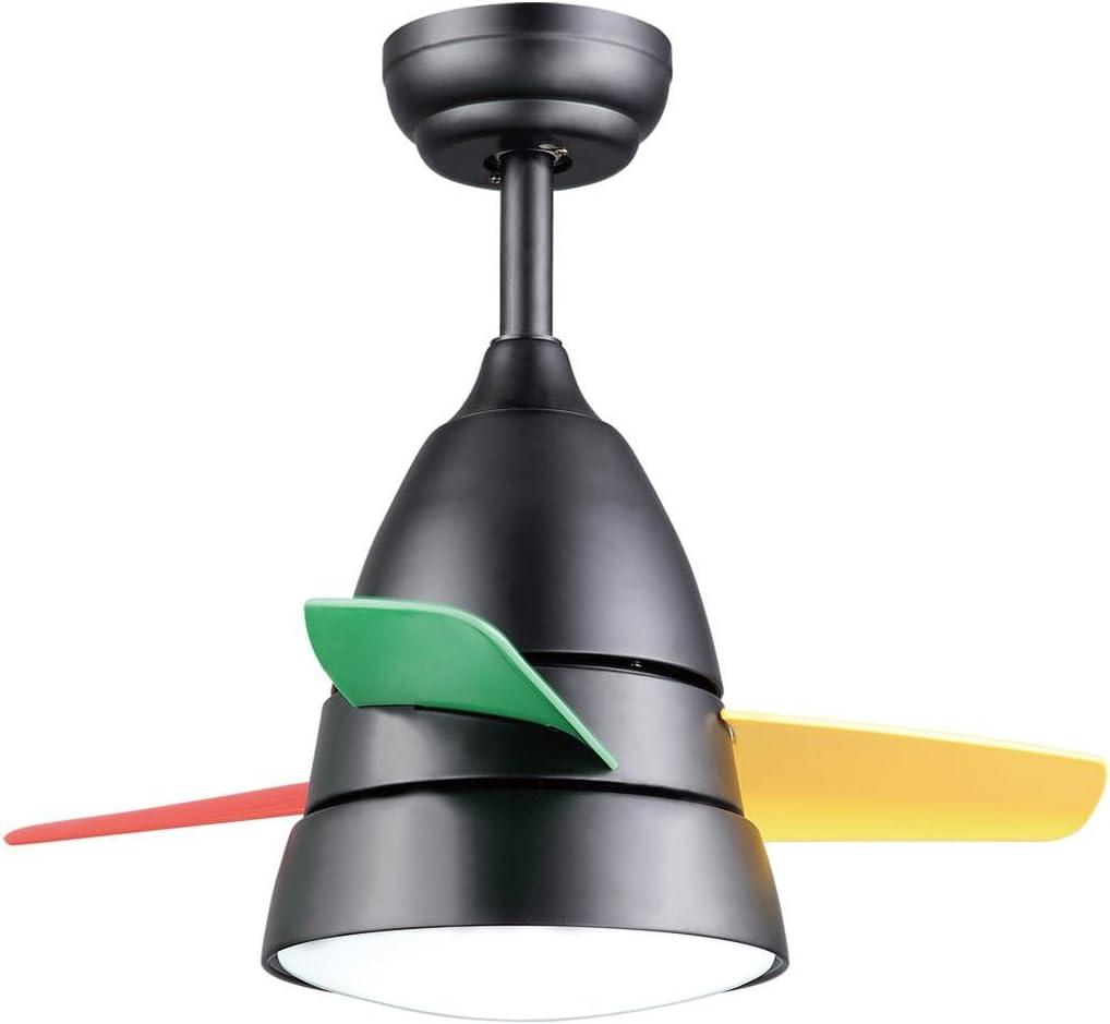 Marcus R Caveggf Ventilador de Techo con luz 36 Pulgadas 3 Cuchillas de plástico ABS 16W LED Sola lámpara Remoto de Tres velocidades Puede ser hacia adelante y hacia atrás Garantía de un año