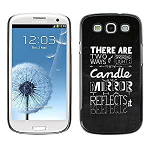 GagaDesign Phone Accessories: Hard Case Cover for Samsung Galaxy S4 - Spreading The Light