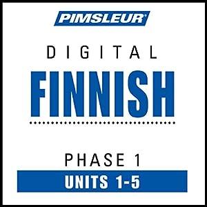 Finnish Phase 1, Unit 01-05 Audiobook