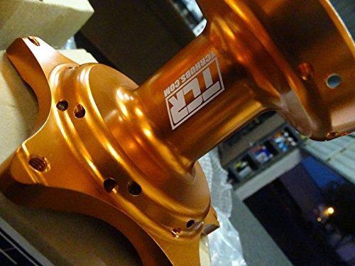 TCR Front & Rear Set Wheel Hubs KTM Orange 125 250 300 350 450 525 SX SXF 07-16 by TCR (Image #5)