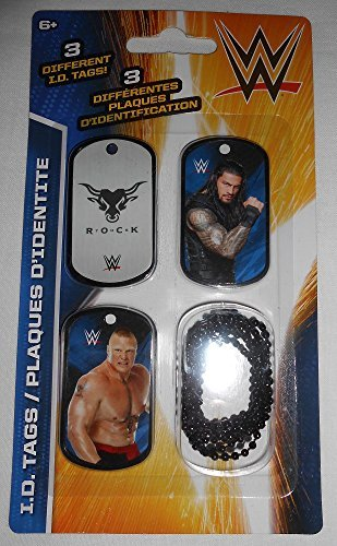 WWE Wrestlers The Rock and Others ID Dog Tags Series 2 ()