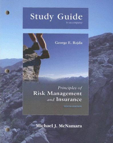 Download Study Guide for Principles of Risk Management and Insurance Pdf