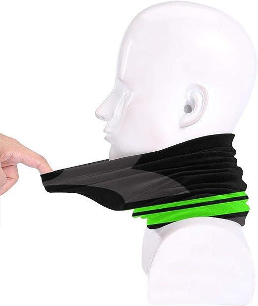 passamontagna bandana ghetta per collo scuro copricapo fascia per sport Kawasaki maschera solare sciarpa magica