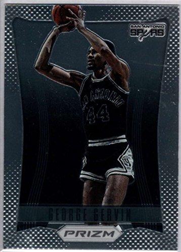 George Gervin Spurs - 2012-13 Panini Prizm #191 George Gervin Spurs NBA Basketball Card NM-MT