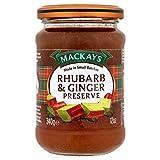 Mackays Rhubarb & Ginger Preserve (340g)