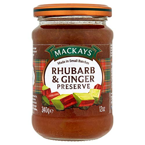 Mackays Rhubarb and Ginger Preserve, 12 Ounce