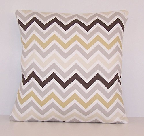Euro size Throw Pillow Cover, multi color Chevron, Accent Pillow, Euro Sham, Cushion Cover - 26
