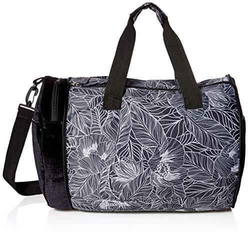 Maaji Women's Velvet Printed Convertible Weekender Bag, Black, One Size
