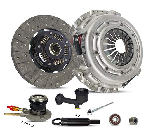 Clutch Kit Master And Slave Cylinder Works With Chevrolet Blazer S10 GMC Jimmy Sonoma Ls Xtreme Base Zr2 Zr5 Lt Sle Slt Sls Lt Envoy 1996-2003 2.2L L4 4.3L V6