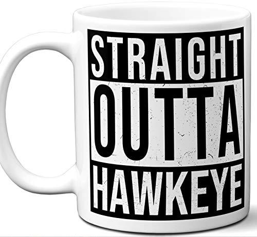 Hawkeye Iowa IA Souvenir Gift Mug. Unique