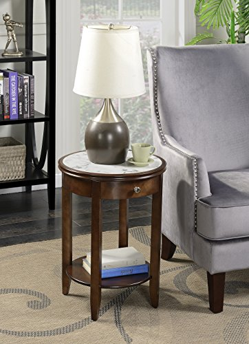 Convenience Concepts 7103350ES American Heritage Baldwin End Table, Espresso