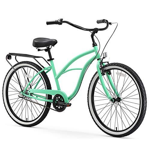 sixthreezero Around The Block Women's 3-Speed Beach Cruiser Bicycle, 24